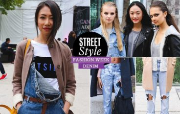 Street Style Trend Report: Fashion Week attendees demonstrate eight ways to pull off distressed denim