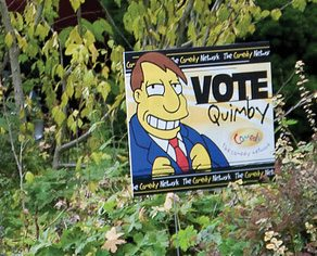 Dear Urban Diplomat: can I get my lefty tenants' Olivia Chow sign off my lawn?