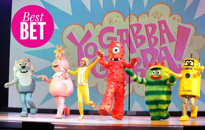Take your tyke to see Yo Gabba Gabba!—a kids' show you'll love too