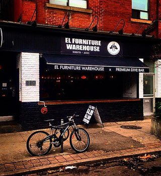 """The group behind El Furniture Warehouse is opening another """"premium dive bar"""" at Queen and John"""
