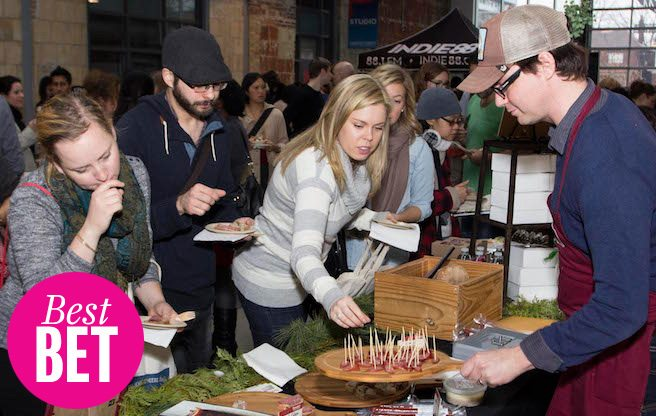 Sample to your heart's delight at the Canadian Artisan Tasting Fair