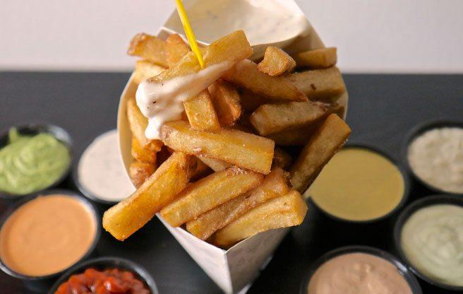 Snack on cones of crispy Belgian frites at Kensington's new fry shop