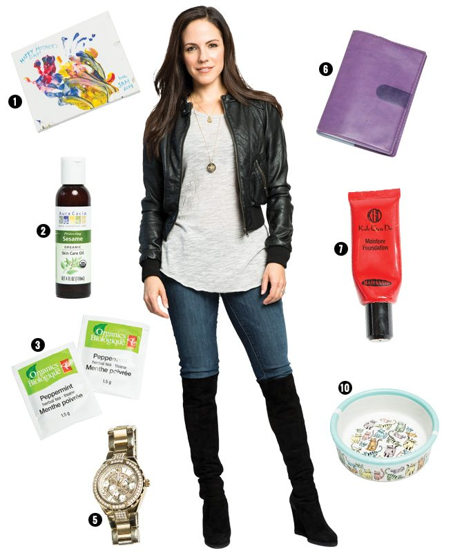 Ten things Anna Silk can't live without