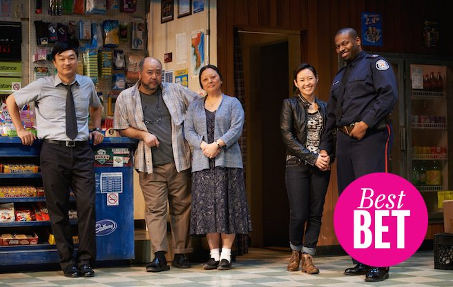Head to the homecoming of Soulpepper's <em>Kim's Convenience</em>