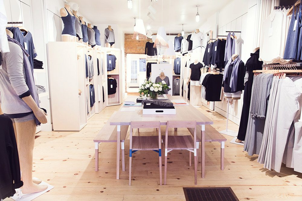 Store Guide: Kit and Ace, a cozy new clothing store on Queen West from the former designer for Lululemon