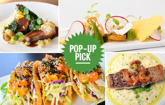 Pop-Up Pick(s): a whole month's worth of special 12-course dinners at the Templar Hotel