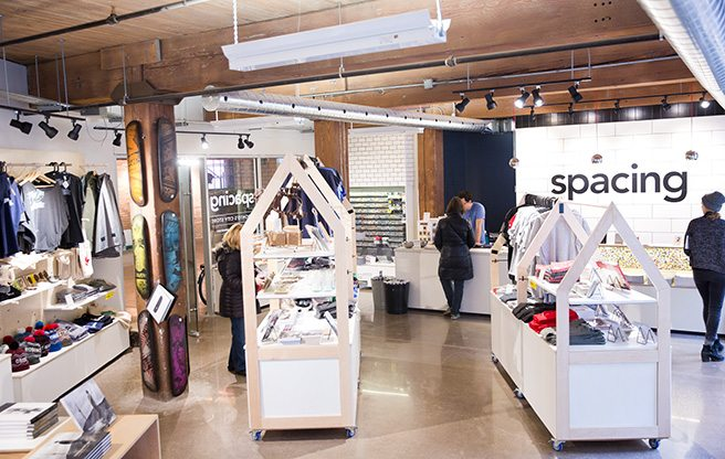 Store Guide: Spacing, the independent city magazine's first Toronto-centric retail outlet