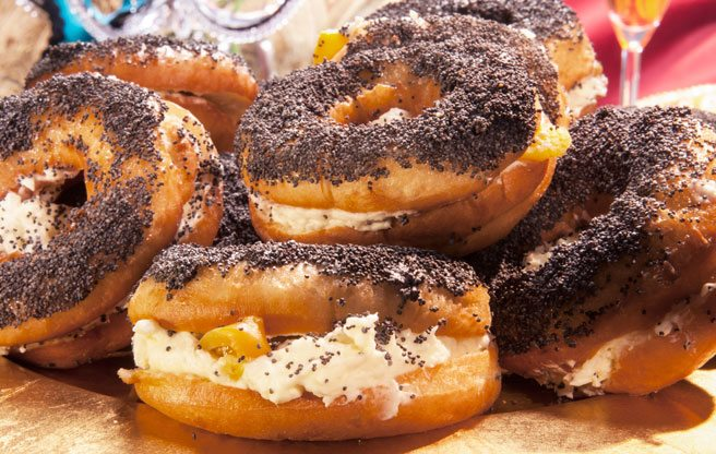 Meet Bloorcourt bar The Steady's award-winning vegan doughnut bagel (bagnut? doughgel?)