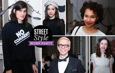 Street Style: WORN party