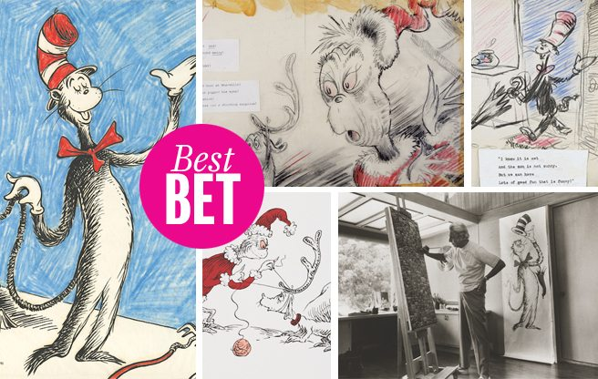 Go beyond the Grinch at Liss Gallery's Dr. Seuss exhibition