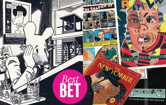 House of Maus: the irreverent cartoonist Art  Spiegelman gets a radiant retrospective