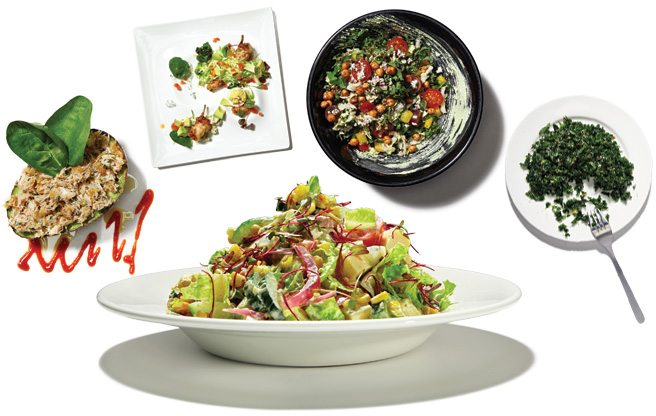 Flavour of the Month: clever chefs are gussying up traditional chopped salads with luscious, irresistible ingredients