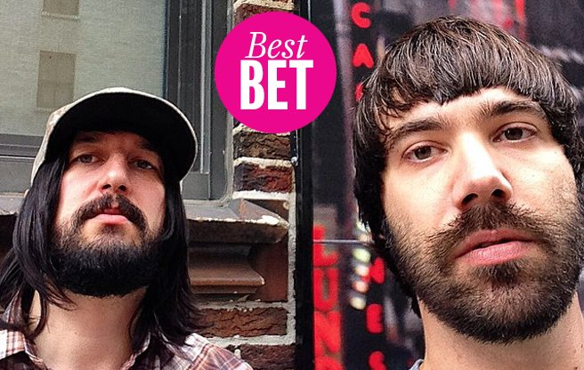 Join a riot at Death From Above 1979's Sound Academy show