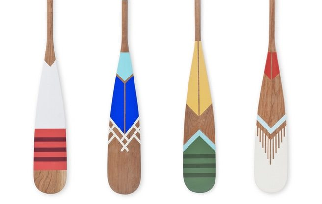 The Find: pretty hand-painted paddles from Norquay Company