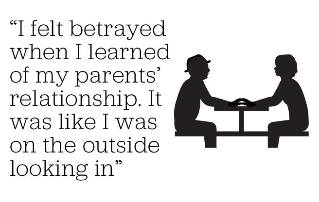 Memoir: I was friends with my dad—until I found out he was secretly dating my mom