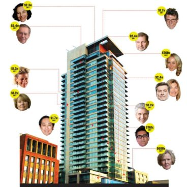 Tower of Power: who lives where at One Bedford, the new downtown address of choice for uptown potentates