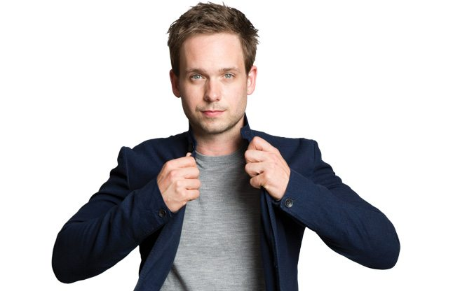 Ten things Patrick J. Adams can't live without