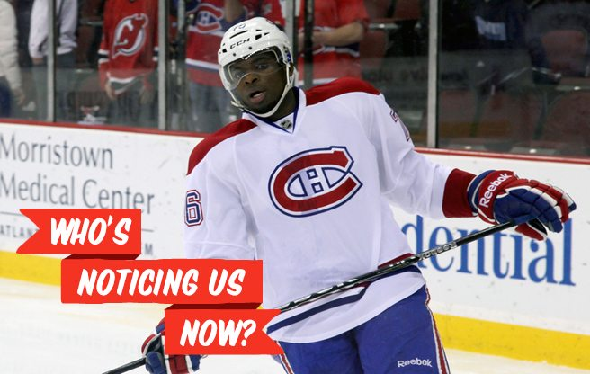 "P.K. Subban's ""polarizing"" personality lands him in the <em>New Yorker</em>"