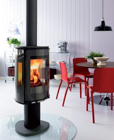 Secrets to a Happy Toronto Winter: #2. Wood-burning stoves don't have to cramp your style