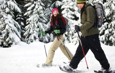 Secrets to a Happy Toronto Winter: #6. Snowshoeing induces bliss