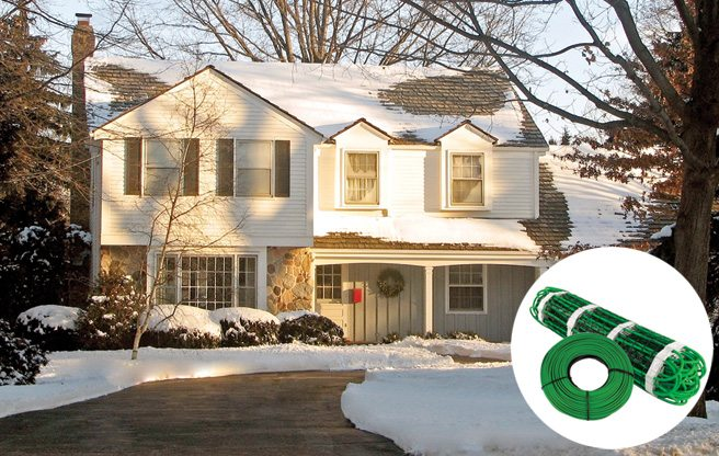 Secrets to a Happy Toronto Winter: #12. A heated driveway (no shovelling!) can be yours for less than two grand