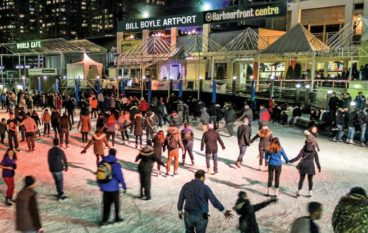 Secrets to a Happy Toronto Winter: #13. The sassiest dance parties are on ice