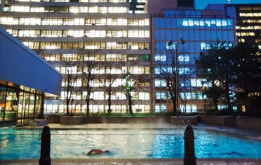 Secrets to a Happy Toronto Winter: #14. The Sheraton has an all-season outdoor pool