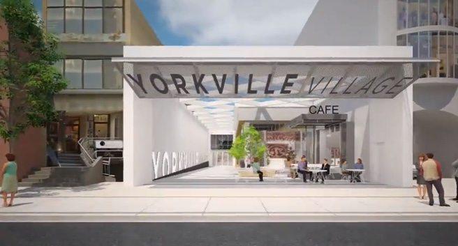"Hazelton Lanes will become ""Yorkville Village"" as part of a major neighbourhood revamp"