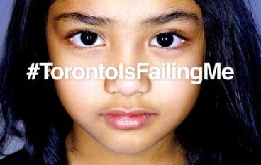 #TorontoIsFailingMe: Editor's Note