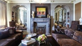 Swish Château: an interior designer to the jet set creates a plush sanctuary in the city
