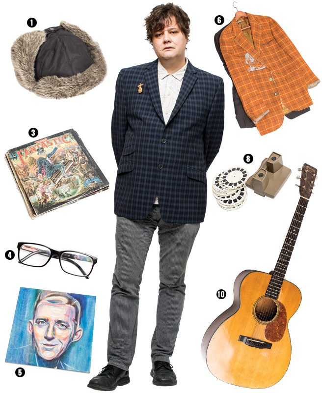 Ten things Ron Sexsmith can't live without