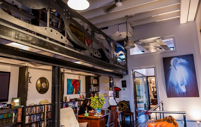 House of the Week: $2 million for a Junction loft with a design pedigree (and secret rooms)