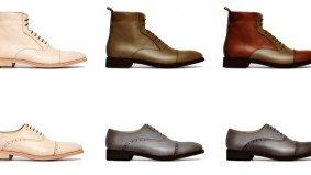 The Find: classy custom-made shoes for on-the-go guys