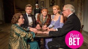 Watch Angela Lansbury bring <em>Blithe Spirit</em> to life