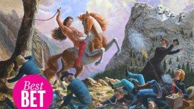 Rewrite Canadian history with the Cree artist Kent Monkman