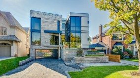 House of the Week: $4.3 million for a modern Lawrence Park mansion with a seriously impressive fish tank