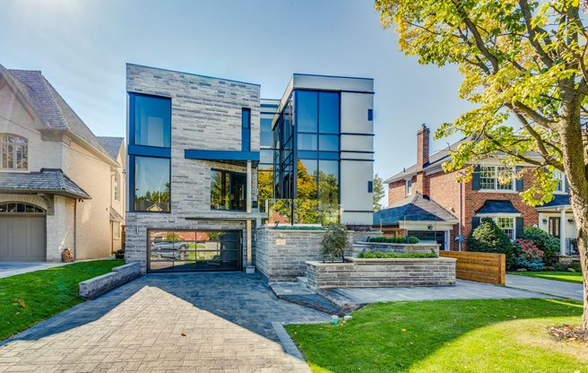 43 million for a modern Lawrence Park mansion with a
