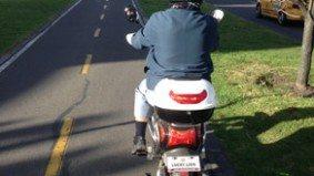 Dear Urban Diplomat: what should I do about an annoying e-biker?