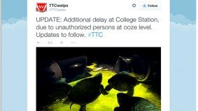 Twitter makes the same two jokes about the TTC's mysterious subway ooze