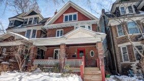 House of the Week: $1.9 million for a wood-panelled home near High Park