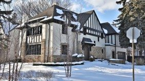 House of the Week: $2.8 million for a Forest Hill Tudor with modern conveniences (and a secret hatch)