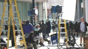 Dear Urban Diplomat: can I disobey the demands of sidewalk-hogging TV crews?
