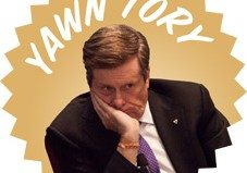 John Tory re-announces a transit line that was supposed to have been built by now