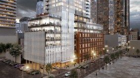 What developers want to turn a century-old building at Duncan and Adelaide into
