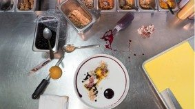 Richmond Station pastry chef Farzam Fallah's sweet mise en place
