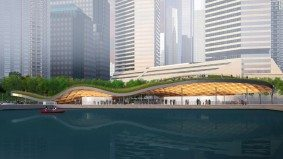 What the Toronto Islands ferry terminal might look like in a few years, if Waterfront Toronto gets its way