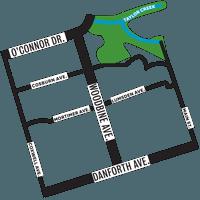 woodbine-heights-map