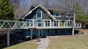 Cottage of the Week: $2.7 million for a Gravenhurst summer home with a catwalk