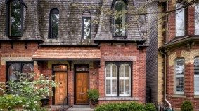 House of the Week: $990,000 for a Moss Park semi with a mansard roof