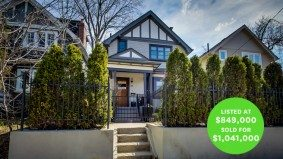 Sale of the Week: the $1-million Wychwood home that proves a small lot can sell overnight